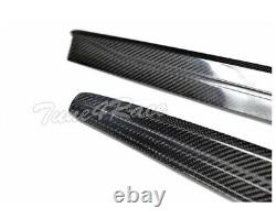 12-18 BMW F30 3-Series Carbon Fiber Side Skirts Extension M-Sport M-Performance