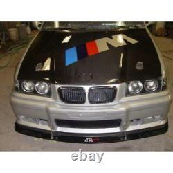 APR Performance Carbon Fiber Front Wind Splitter with Rods for BMW E36 M3 92-99