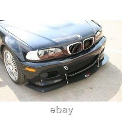 APR Performance Carbon Fiber Front Wind Splitter with Rods for BMW E46 M3 01-06