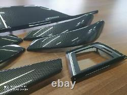 BMW 3 4 Series F30 F31 F36 M performance Interior Trim Kit 7PCS CARBON FIBER LHD