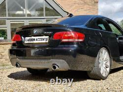 BMW 3 Series E92 M3 Real Carbon Fiber Spoiler M Performance Style Competition