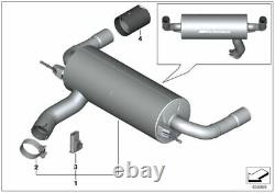BMW 335i & 435i M Performance Exhaust With Carbon Tailpipes 18302354340