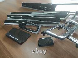 BMW 5 Series F10 F11 M performance Interior Trim 9PCS KIT CARBON FIBER RHD