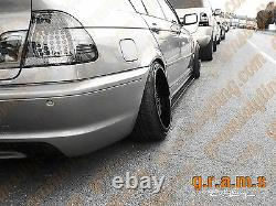BMW E46 CARBON FIBRE Side Steps Side Skirt Extensions Aero Performance v8