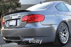 BMW E92 M3 Real Carbon Fibre Spoiler Competition Style 3 Series M Performance