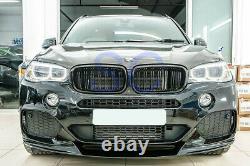 BMW F15 X5 M Sport Performance Style Carbon Fiber Front Lip Spoiler