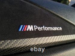 BMW Genuine F32 / LCI M Performance Carbon Fiber & Alcantara Interior Dash Trim