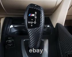 BMW M Performance Carbon Fiber Auto Shifter Handle Trim- 1 2 3 4 7 Series x3 x4