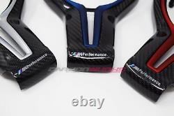 BMW M Performance Carbon Fibre Steering Wheel Trim M2 M3 M4 M5 M6 F82 F80 F30