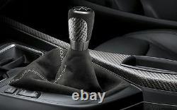 BMW M Performance Carbon Gearshift Knob Alcantara Gaiter F20 F21 F22 F23 2222533