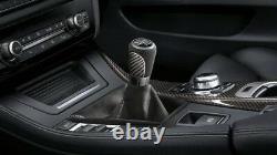 BMW M Performance Schaltknauf Carbon mit Alcantarabalg 1er F20 F21 2er F22 F23