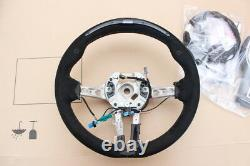 BMW M Performance Steering Wheel Alcantara Race-Display M2 F87 Carbon Cover OEM