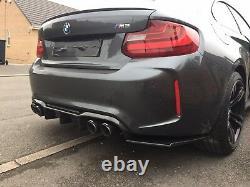 BMW M2 M Performance Carbon Big Diffuser Akrapovic Tips F87