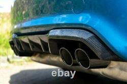 BMW M2/M2C Competition Carbon Fiber Performance Style Rear Diffuser Fits F87