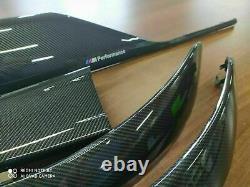 BMW M3 M4 F32 F30 F31 F36 M performance Interior Trim Kit 7PCS CARBON FIBER LHD
