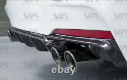Bmw 3 Series F30 F31 M Sport Performance Carbon Fiber Diffuser Quad Exhaust