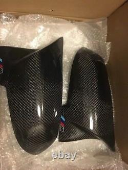 Bmw 3 Series F30 M Performance Carbon Fibre Mirror Covers with M Mark OEM-Fit