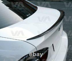 Bmw 3 Series M E90 M3 Performance Carbon Fiber Boot Trunk Lip Spoiler