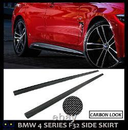Bmw 4 Series F32 F33 F36 M4 Side Skirt Extension Blades Kit M Performance