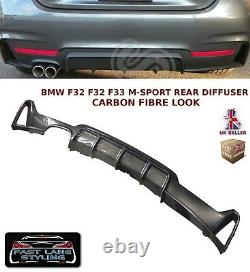 Bmw 4 Series F32 F33 F36 Performance M Sport Rear Diffuser Valance Carbon Fibre