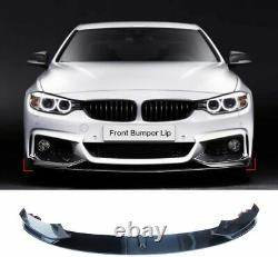 Bmw 4 Series M Sport F32 F33 Performance Front Splitter Lip Diffuser Carbon Look