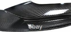 Bmw 5 Series F10 F11 Front Splitter Lip Diffuser Sport Performance Carbon Color