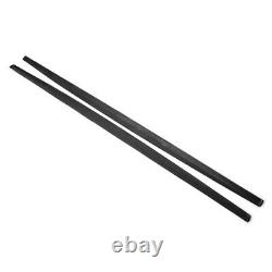 Bmw 5 Series F10 F11 M Performance Side Skirt Extension Blades Carbon Look 10-16