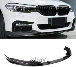 Bmw 5 Series G30 Front Splitter Lip Spoiler Saloon Performance Sport Carbon Look