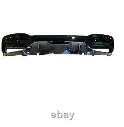Bmw 5 Series G30 G31 M Performance M5 Style Rear Bumper Diffuser 3d Black Carbon