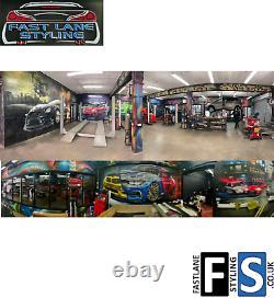 Bmw 5 Series G30 G31 M Performance Rear Bumper Diffuser Valance Gloss & Carbon