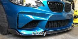 Bmw M M2 F87 Performance Style Carbon Fiber Front Lip Spoiler Splitter