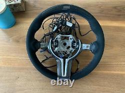 Bmw M2 M3 M4 Performance Race Led Alcantara Steering Wheel Carbon F2x F3x X5 X6