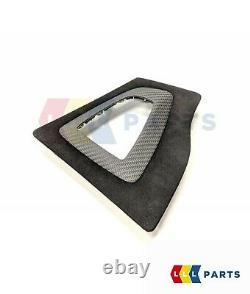 Bmw New Genuine 3 4 F30 F33 M Performance Gearshift Alcantara Carbon Cover Rhd