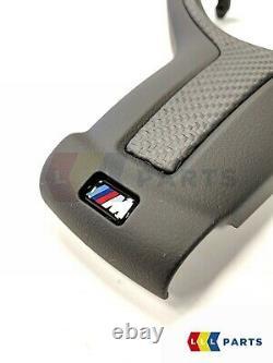 Bmw New Oem F20 F30 F32 F33 F36 M Performance Carbon Steering Wheel Trim Cover