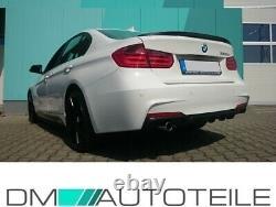 CARBON Glanz Heck Diffusor Sport-Performance passt für BMW 3er F30 F31 M-Paket