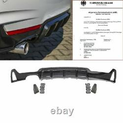 CARBON Sport-PERFORMANCE Heckdiffusor passt für BMW 4er F32 F33 F36 mit M-Paket