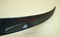 Carbon Fiber 07-13 BMW E82 123d 118d 135i Coupe Performance Style Trunk Spoiler