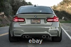 Carbon Fiber Performance Style Boot Trunk Spoiler for BMW 3 series F30 & M3 F80