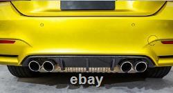 Carbon Fiber Performance Style Rear Bumper Diffuser for BMW F80 M3 F82 F83 M4