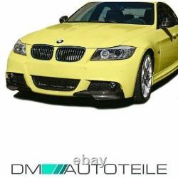 Carbon Flaps SET für Stoßstange Spoiler Lippen passend für BMW E90 E91 LCI M