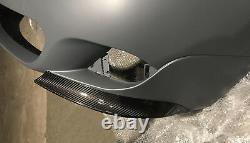 Carbon Front Bumper Splitters Spoilers Bmw E60 E61 5 Series M Sport Bumper Flaps