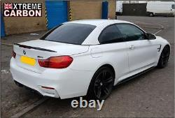 Carbon Performance Style Side Skirt Extensions Skirts Fits BMW M3 M4 F80 F82