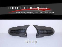 Carbon Spiegelkappen für 4er BMW F32 F33 F36 Spiegel Kappen M4 Performance Caps
