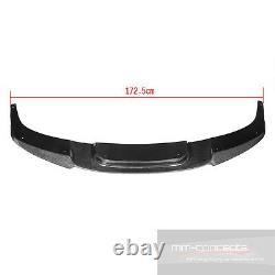 Carbon Spoilerlippe für BMW 6er F06 F12 F13 M Performance 6 Ansatz Lippe Schwert