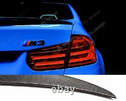 Carbon lack Heckspoiler performance style für BMW F30 Facelift für M paket look