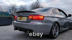 Dry Carbon Performance High Kick Boot Spoiler for BMW 3 series E92 & M3 Coupe