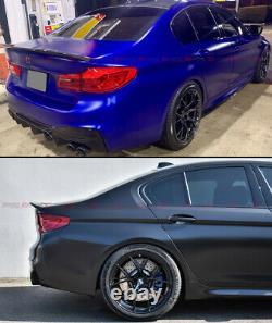FOR 17-2021 BMW G30 520d 530i 540i F90 M5 COMP STYLE CARBON FIBER TRUNK SPOILER