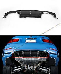 Fits 2015-19 Bmw F8x M3 M4 Performance Style Carbon Fiber Rear Bumper Diffuser