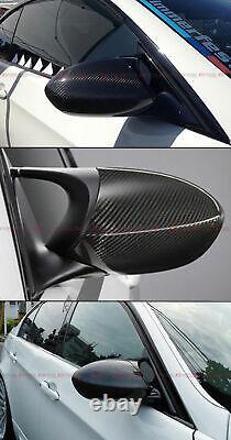 For 07-13 Bmw E90 E92 E93 M3 Full Dry Carbon Fiber Replacement Side Mirror Cover