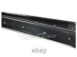 For 14-18 BMW F80 M3 Carbon Fiber Side Skirts Extension Kit Performance Style